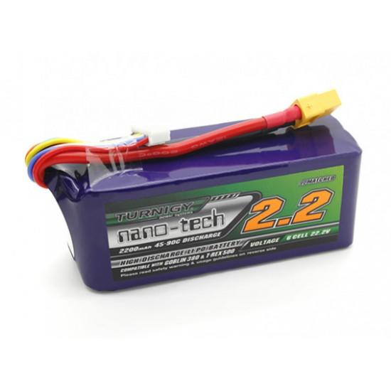 Turnigy nano-tech 2200mah 6S 25~50C LiPoly Battery