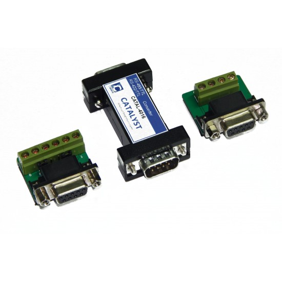 Industrial RS-485-RS-422 to 5V TTL Converter