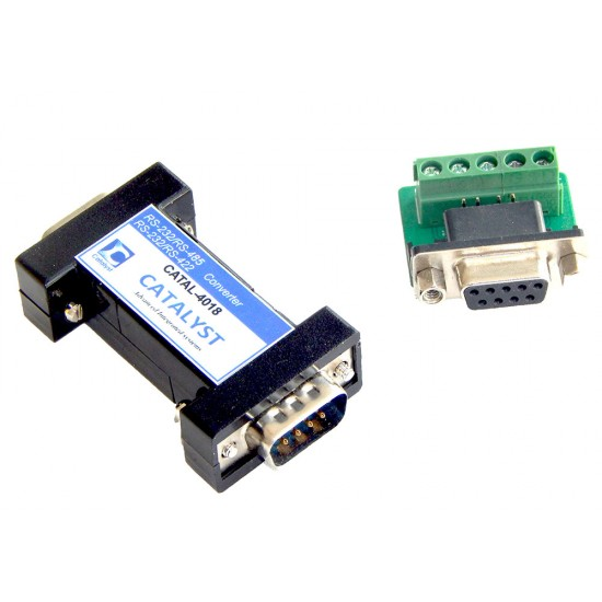 Industrial RS-232 to RS-485 / RS-422 converter