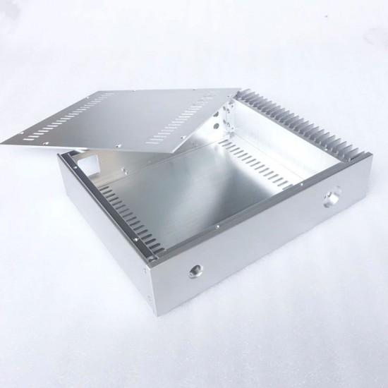 BRZHIFI BZ3207S single radiator aluminum case for power amplifier